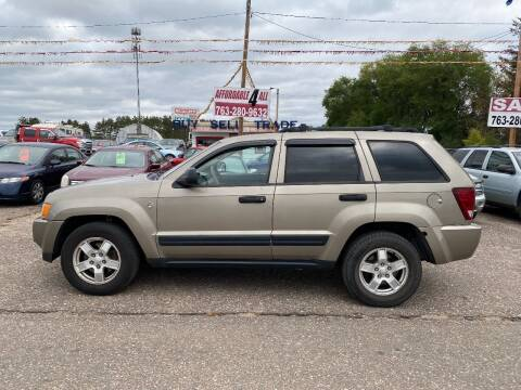 2005 Jeep Grand Cherokee for sale at Affordable 4 All Auto Sales in Elk River MN