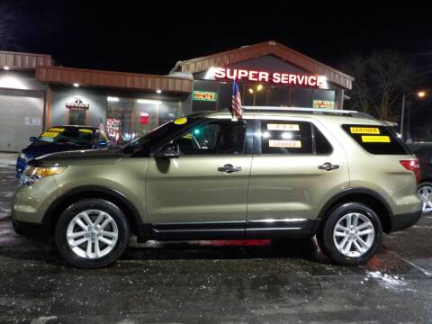 2013 Ford Explorer for sale at Super Service Used Cars in Milwaukee WI