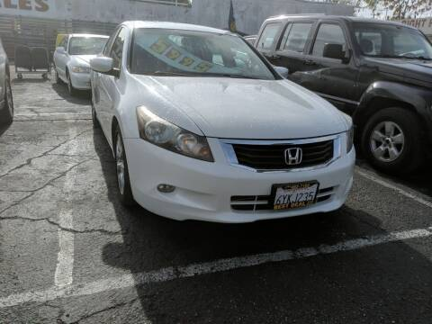 2008 Honda Accord for sale at Best Deal Auto Sales in Stockton CA