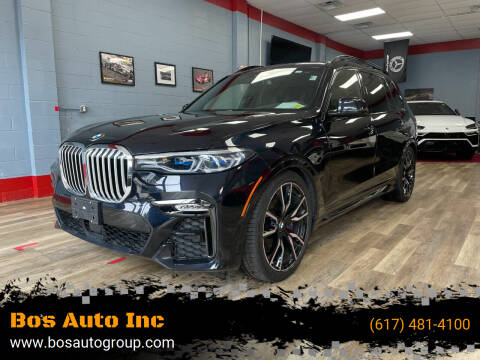 2019 BMW X7 for sale at Bos Auto Inc in Quincy MA