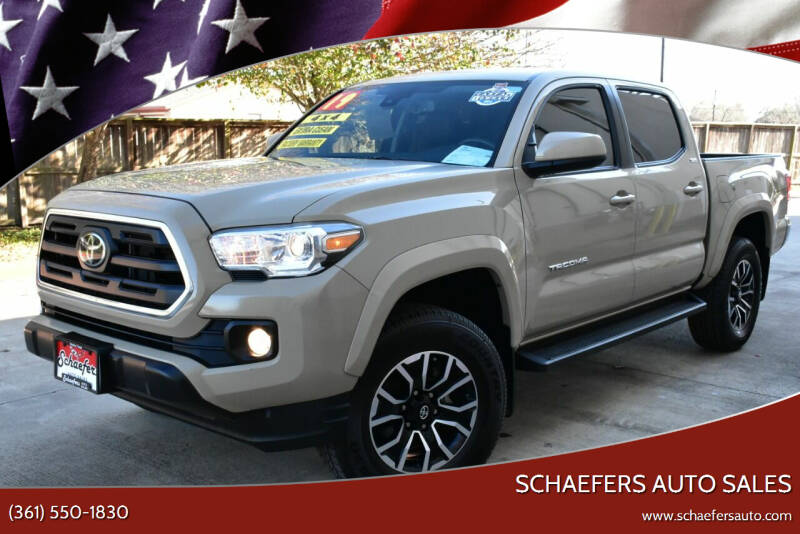 2019 Toyota Tacoma for sale at Schaefers Auto Sales in Victoria TX