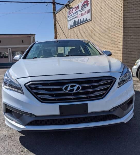 2015 Hyundai Sonata for sale at Boston Auto World in Quincy MA