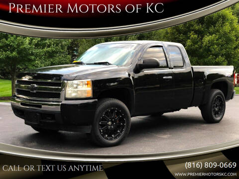 2010 Chevrolet Silverado 1500 for sale at Premier Motors of KC in Kansas City MO