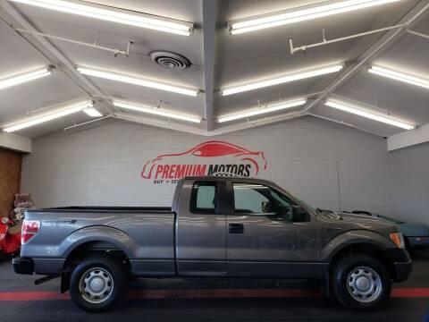 2013 Ford F-150 for sale at Premium Motors in Villa Park IL