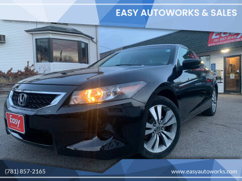 2009 Honda Accord for sale at Easy Autoworks & Sales in Whitman MA