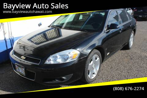 2008 Chevrolet Impala for sale at Bayview Auto Sales in Waipahu HI