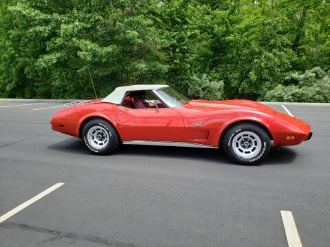 1975 Chevrolet Corvette for sale at GRS Auto Sales and GRS Recovery in Hampstead NH