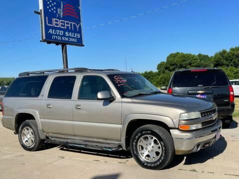 2002 Chevrolet Suburban for sale at Liberty Auto Sales in Merrill IA