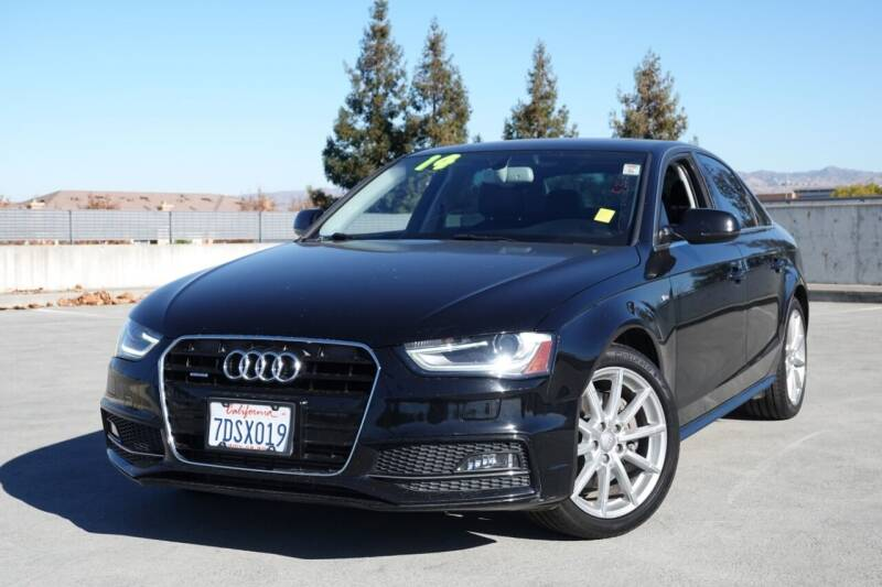 2014 Audi A4 for sale at BAY AREA CAR SALES 2 in San Jose CA