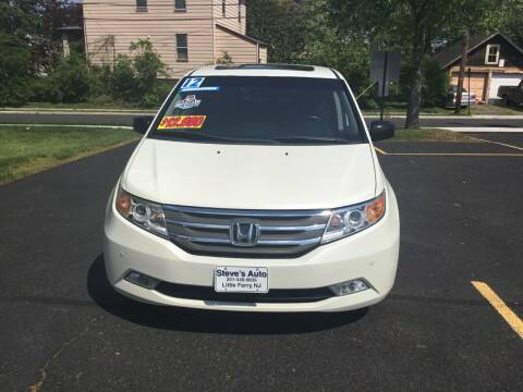 2012 Honda Odyssey for sale at Steves Auto Sales in Little Ferry NJ