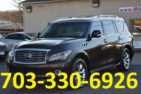 2011 Infiniti QX56 for sale at MANASSAS AUTO TRUCK in Manassas VA