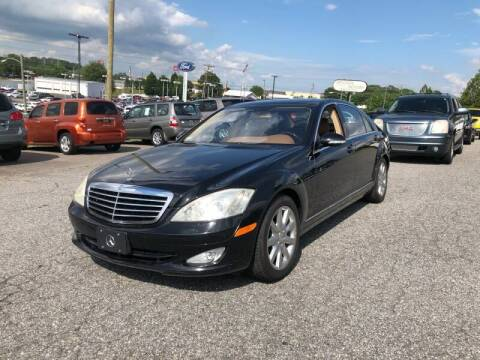 2007 Mercedes-Benz S-Class for sale at Hillside Motors Inc. in Hickory NC