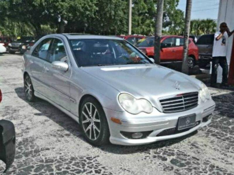 2007 Mercedes-Benz C-Class for sale at DONNY MILLS AUTO SALES in Largo FL