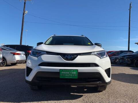 2018 Toyota RAV4 for sale at Primetime Auto in Corpus Christi TX