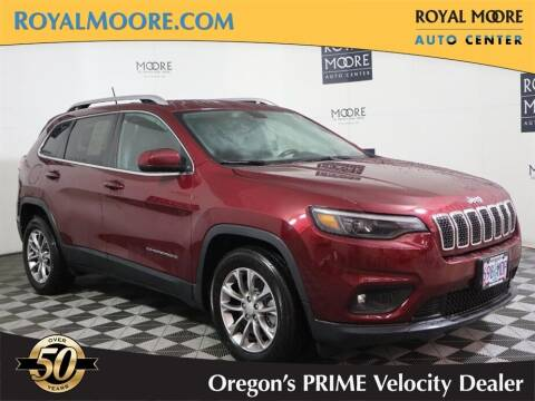 2019 Jeep Cherokee for sale at Royal Moore Custom Finance in Hillsboro OR