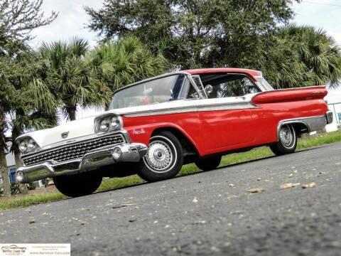 1959 Ford Fairlane for sale at SURVIVOR CLASSIC CAR SERVICES in Palmetto FL