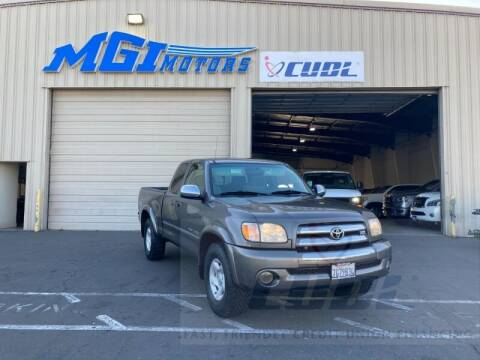 2003 Toyota Tundra for sale at MGI Motors in Sacramento CA