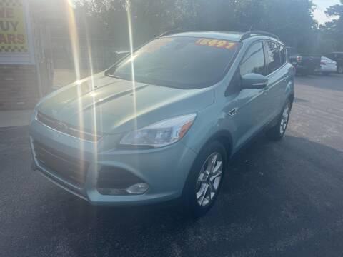 2013 Ford Escape for sale at Excel Auto Sales LLC in Kawkawlin MI
