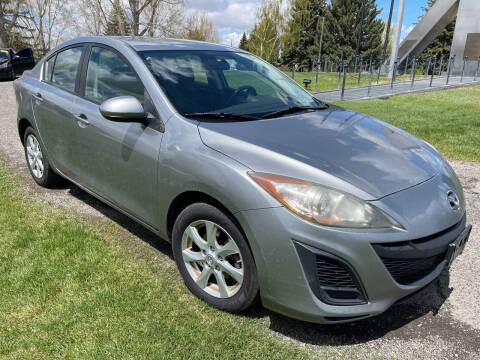 2010 Mazda MAZDA3 for sale at BELOW BOOK AUTO SALES in Idaho Falls ID