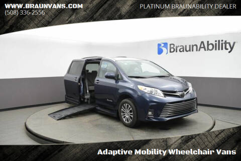 2019 Toyota Sienna for sale at Adaptive Mobility Wheelchair Vans in Seekonk MA