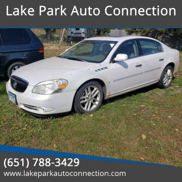 2006 Buick Lucerne for sale at Lake Park Auto Connection in Lake Park MN