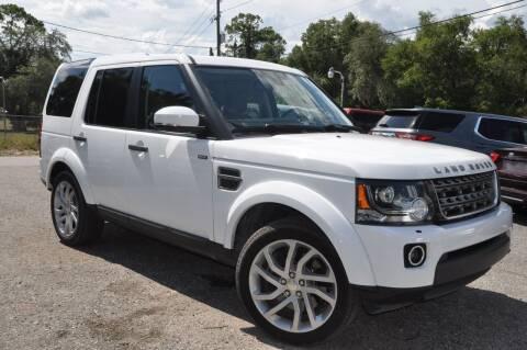 2014 Land Rover LR4 for sale at Elite Motorcar, LLC in Deland FL