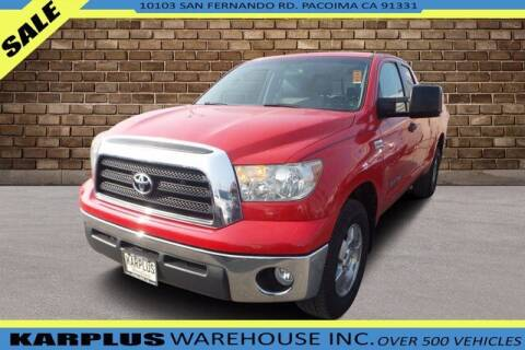 2007 Toyota Tundra for sale at Karplus Warehouse in Pacoima CA