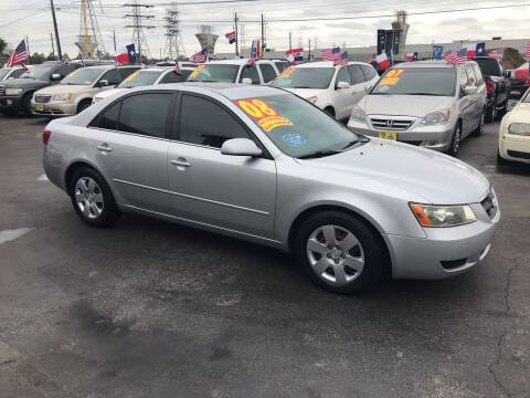 2008 Hyundai Sonata for sale at Texas 1 Auto Finance in Kemah TX