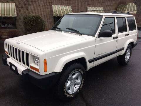 2001 Jeep Cherokee for sale at Depot Auto Sales Inc in Palmer MA