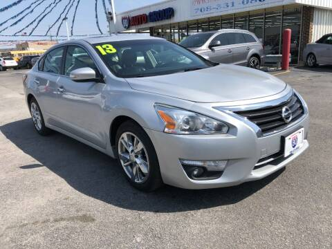 2013 Nissan Altima for sale at I-80 Auto Sales in Hazel Crest IL