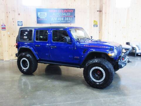 2018 Jeep Wrangler Unlimited for sale at Boone NC Jeeps-High Country Auto Sales in Boone NC