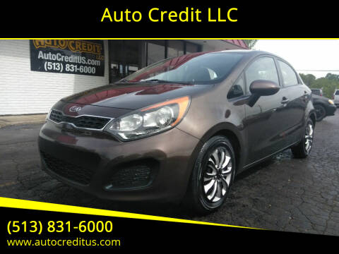 2012 Kia Rio 5-Door for sale at Auto Credit LLC in Milford OH