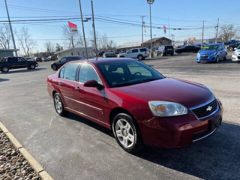 2006 Chevrolet Malibu for sale at Bruce Kunesh Auto Sales Inc in Defiance OH