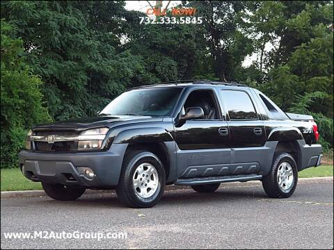 2002 Chevrolet Avalanche for sale at M2 Auto Group Llc. EAST BRUNSWICK in East Brunswick NJ