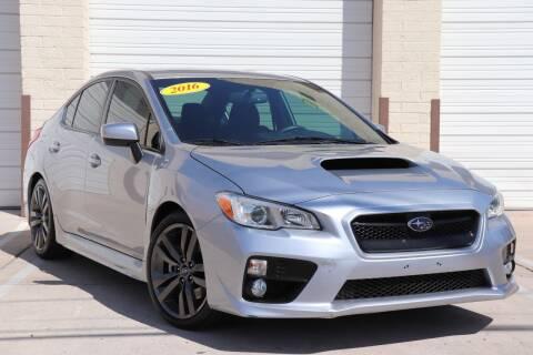 2016 Subaru WRX for sale at MG Motors in Tucson AZ