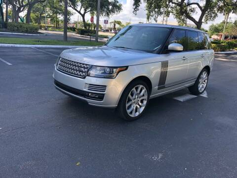 2013 Land Rover Range Rover for sale at CARSTRADA in Hollywood FL