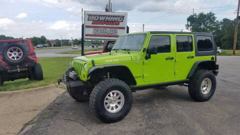 2013 Jeep Wrangler Unlimited for sale at Downing Auto Sales in Des Moines IA