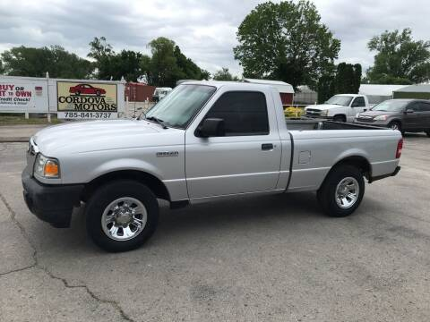 2011 Ford Ranger for sale at Cordova Motors in Lawrence KS