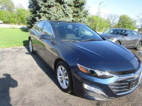 2020 Chevrolet Malibu for sale at VALERI AUTOMOTIVE in Winthrop Harbor IL