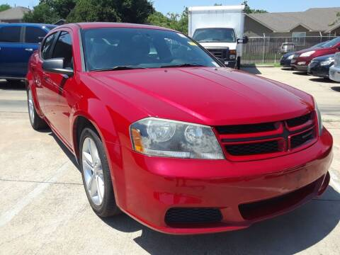 2014 Dodge Avenger for sale at Auto Haus Imports in Grand Prairie TX