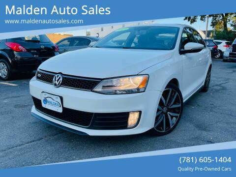 2013 Volkswagen Jetta for sale at Malden Auto Sales in Malden MA
