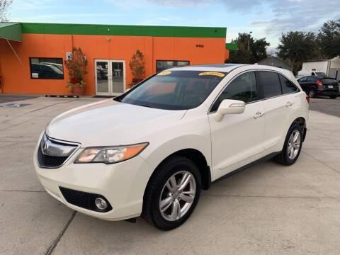 2013 Acura RDX for sale at Galaxy Auto Service, Inc. in Orlando FL