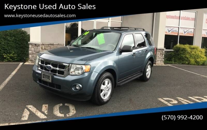 2010 Ford Escape for sale at Keystone Used Auto Sales in Brodheadsville PA