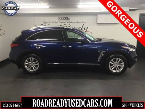 2015 Infiniti QX70 for sale at Road Ready Used Cars in Ansonia CT