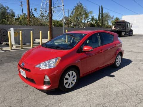 2012 Toyota Prius c for sale at Hunter's Auto Inc in North Hollywood CA