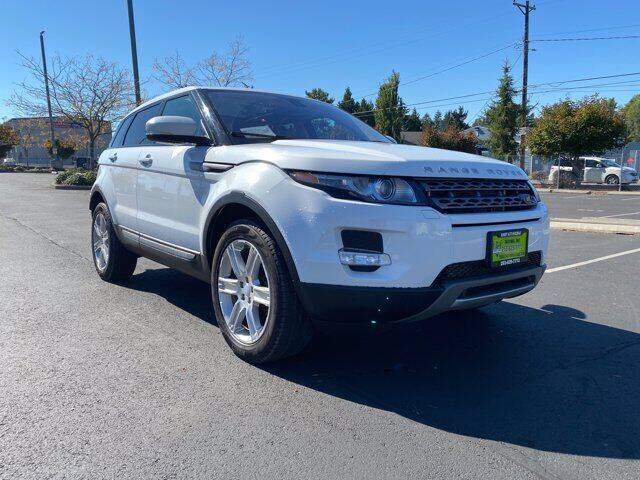 2012 Land Rover Range Rover Evoque for sale at Sunset Auto Wholesale in Tacoma WA
