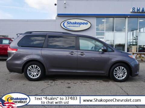 2014 Toyota Sienna for sale at SHAKOPEE CHEVROLET in Shakopee MN
