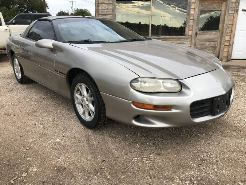 2000 Chevrolet Camaro for sale at CLASSIC MOTOR SPORTS in Winters TX