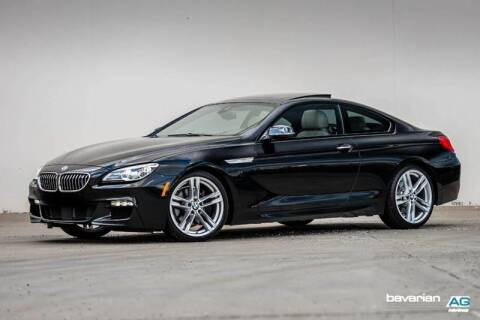 2016 BMW 6 Series for sale at BAVARIAN AUTOGROUP LLC in Kansas City MO