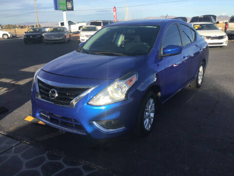 2017 Nissan Versa for sale at SPEND-LESS AUTO in Kingman AZ